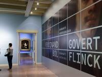 Overzichtsfoto's van de tentoostelling ' Bol en Flinck, Rembandts meesterleerlingen' in het Amsterdam Museum van oktober 2017 t/m maart 2018