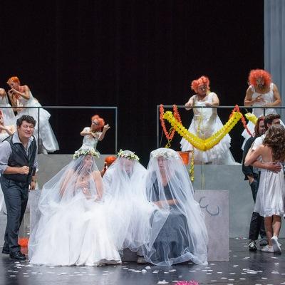Probe zur Oper »Il dissoluto punito ossia Il Don Giovanni« (Der bestrafte Wüstling oder Don Giovanni) von Wolfgang Amadeus Mozart am 31.08.18 im Deutschen Nationaltheater Weimar. Foto: Candy Welz