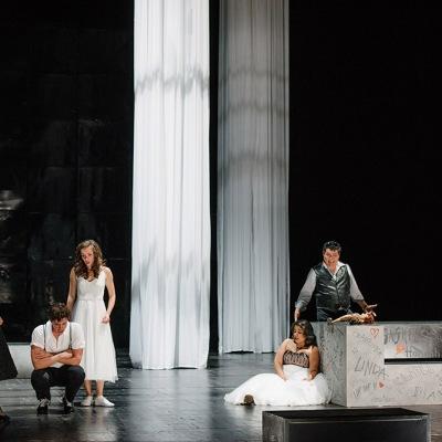 Probe zur Oper » Il dissoluto punito ossia Il Don Giovanni« (Der bestrafte Wüstling oder Don Giovanni) von Wolfgang Amadeus Mozart am 05.09.18. Foto: Candy Welz